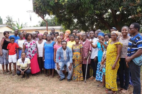 OAfrica Gruppenfoto Elterntraining
